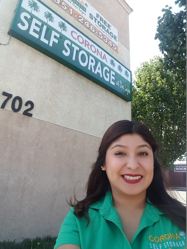 Alma at Corona Self Storage at Dos Lagos