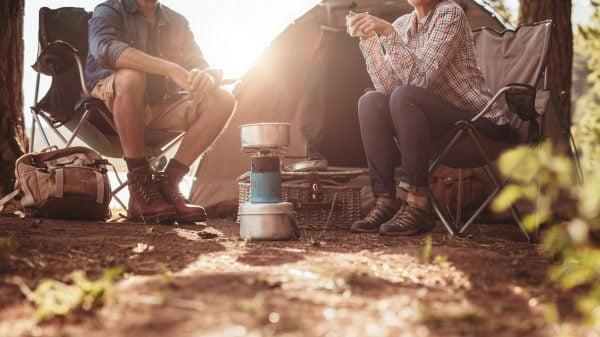 campers enjoying the chandler, az sunshine