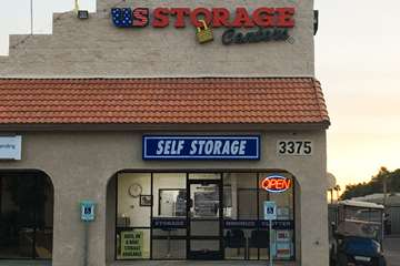 self storage las vegas glen exterior
