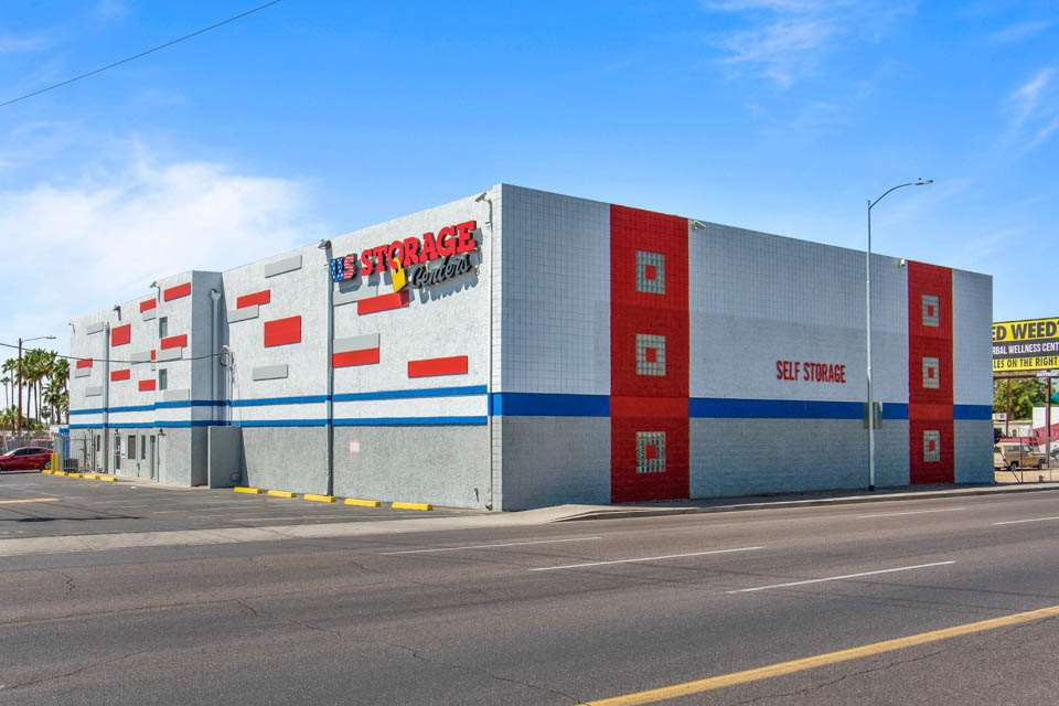 self storage facility phoenix az 2563 w indian exterior