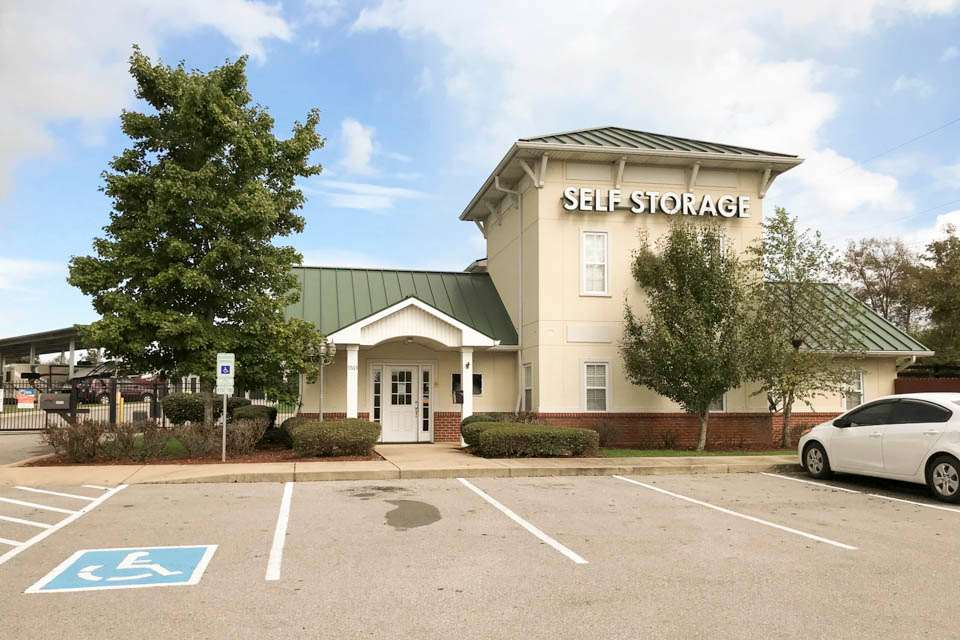 self storage facility la vergne tn murfreesboro rd exterior