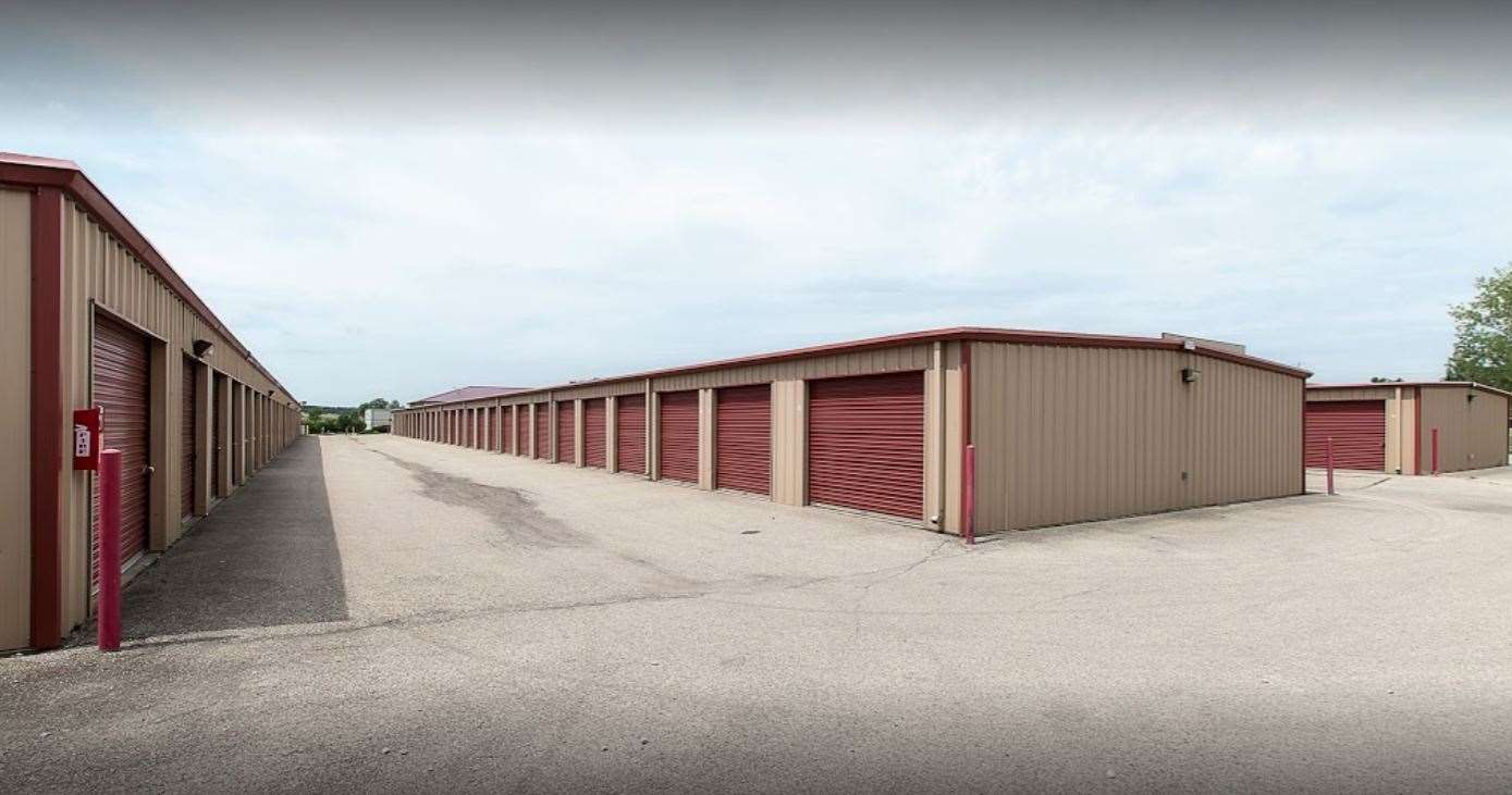 self storage facility huber heights oh bridgewater rd exterior units