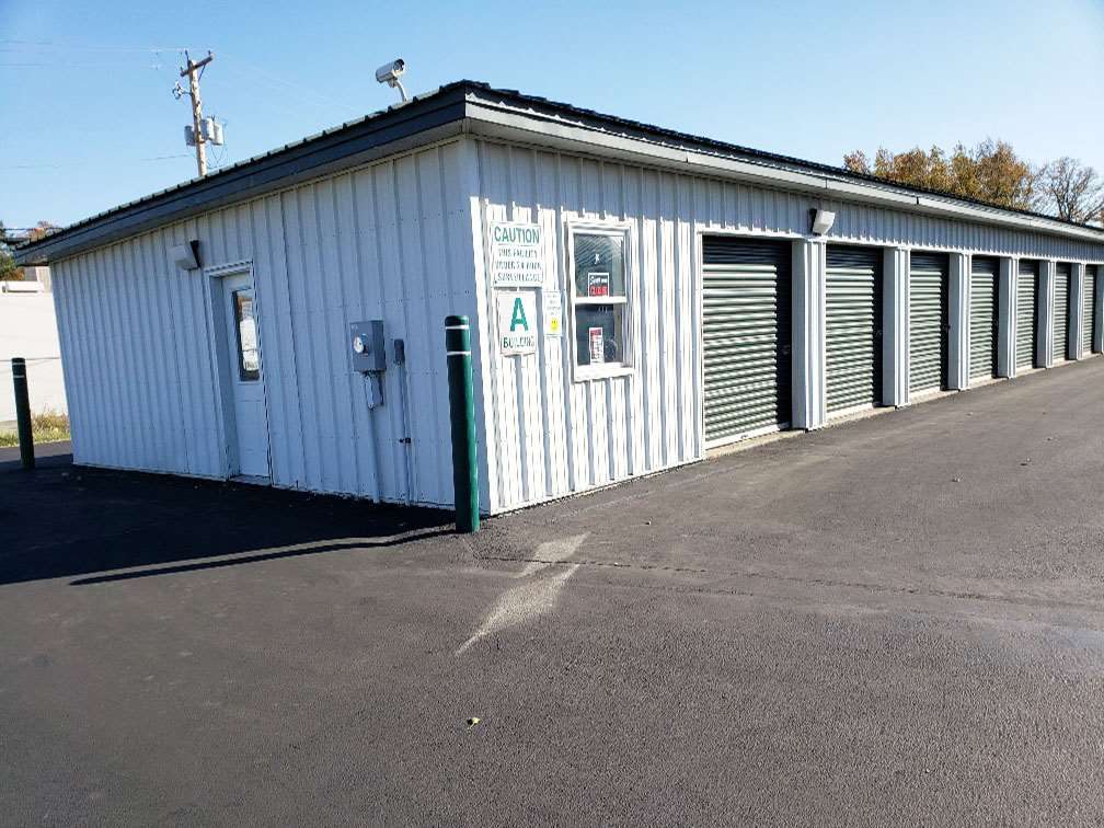 self storage facility lima oh vera way exterior office